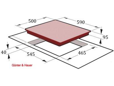Варочная поверхность Gunter&Hauer GH 43 CI