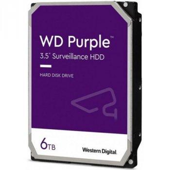 HDD SATA 6.0 TB WD Purple 5400rpm 128MB (WD62PURZ)