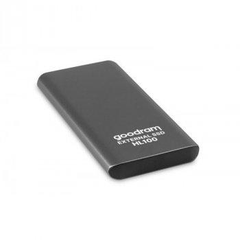 """Накопичувач зовнішній SSD 2.5"""" 1TB USB Goodram HL100 (SSDPR-HL100-01T)"""