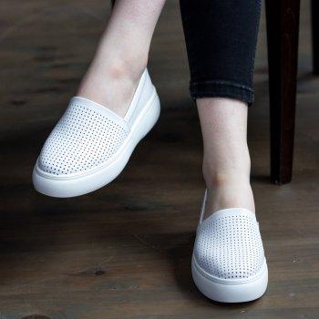 Слипоны женские Shoes Edhessa 2776 23 Белый