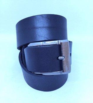 Мужской ремень кожаный Masco 1029 108 см Черный