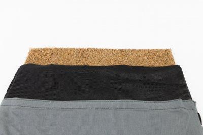 Масажний килимок і валик (аплікатор Кузнєцова) масажер для спини/шиї/тіла OSPORT Lotus Mat Eco (apl-021) Сіро-фіолетовий