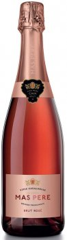 Вино ігристе Pere Ventura Mas Pere Rosado Brut рожеве брют, 0.75 л 11.5% (8426998257752)