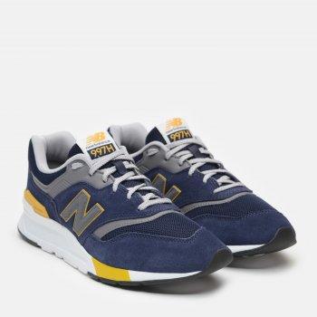 Кроссовки New Balance CM997HVG Синие с желтым