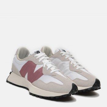 Кросівки New Balance WS327CD Білі з теракотовим