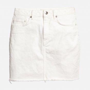 Юбка джинсовая H&M 5489616RP12 Белая