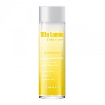 Тонер Trimay Vita Lemon & Witch Hazel Dark Stop Toner для сияния с витаминами и гамамелисом 210 мл
