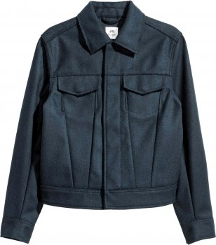 Куртка H&M Studio 04VFE72 Синяя