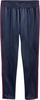 Спортивные брюки H&M 04WBO69 Темно-синие с красным