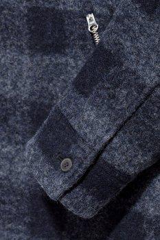 Пальто H&M 55VGE46 Темно-синє