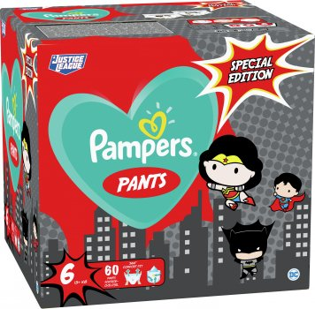Підгузки-трусики Pampers Pants Special Edition Розмір 6 (15+ кг) 60 шт. (8001841968339)