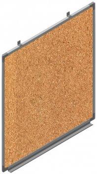 Доска Сектор пробковая информационная 100x100 см (C1010)