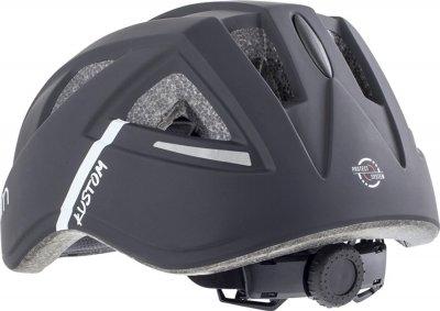 Велосипедний шолом Cairn Kustom Jr black 52-56 (0300219-01-52)