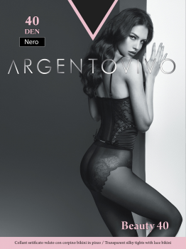 Колготки Argentovivo Beauty 40 Den Nero