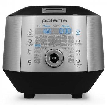 Мультиварка POLARIS EVO 0445DS, 3D нагрів, Смаження, Йогурт, Пароварка, Пастеризація, Підтримання температури, Стерилізація посуду, Таймер відстрочки, Тушкування, 850 Вт