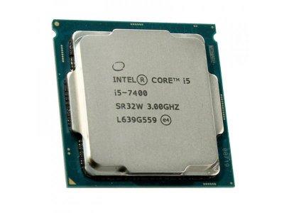 Процессор Intel Core i5-7400 (S1151/4x3.0GHz/8GT/s/6MB/65 Вт/BX80677I57400) Б/У