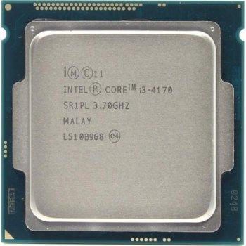 Процесор Intel Core i3-4170 (S1150/2x3.7GHz/5GT/s/3MB/54 Вт/BX80646I34170) Б/У