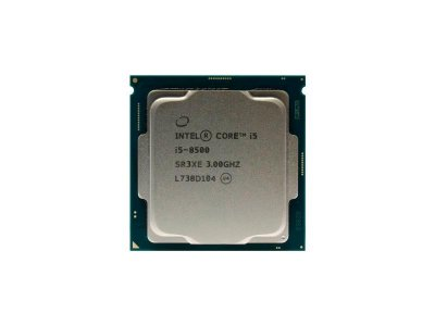 Процесор Intel Core i5-8500 (S1151/6x3.0GHz/8GT/s/9MB/65Вт/BX80684I58500) Б/У