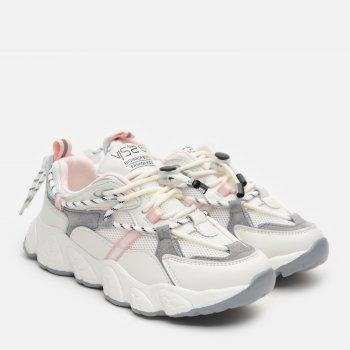 Кроссовки кожаные Kimboo H669-3F Белые