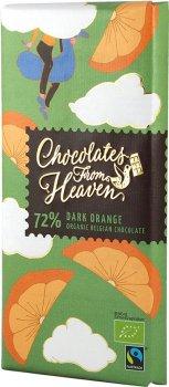 Шоколад Klingele черный 72% с апельсином 100 г (5412860001229)