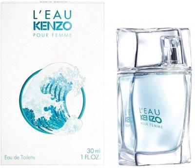 Туалетная вода для женщин Kenzo L'Eau Kenzo Pour Femme 30 мл (3274871944535/3274872333901)