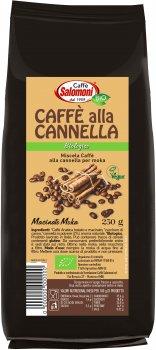 Органічна кава Salomoni Alla Cannella Biologico з корицею 250 г (8025658022305)
