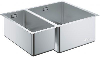 Кухонна мийка GROHE Sink K700U 585x440 31576SD0 сатин правобічна