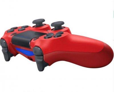 Геймпад в стилі DualShock 4 PS4 wireless controller для плейстейшн ПК червоний V2