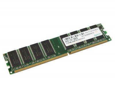 Оперативна пам'ять 512 МБ, DDR, Apacer (для настільних ПК, 400 МГц, 2.5, CL3, 73.G1797.000) БО