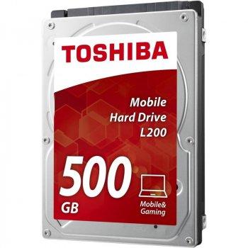 """Жорстку диск Toshiba Mobile L200 500GB HDWK105UZSVA 2.5"""" SATAII"""