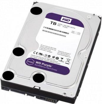Жорсткий диск Western Digital Purple 4TB 64MB 5400rpm WD40PURZ 3.5 SATA III