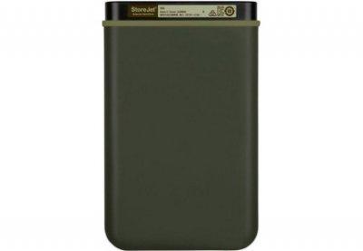 "Накопичувач Transcend StoreJet 25M3G 2TB 2.5"" USB 3.1 Military Green (TS2TSJ25M3G)"