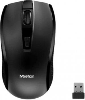 Бездротова клавіатура і мишка набір Combo MeeTion Keyboard/Mouse Wireless 2.4 G MT-C4120 |RU/EN|. Black