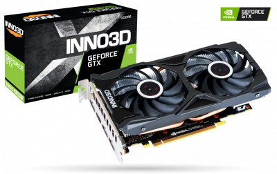 Відеокарта Inno3D GeForce GTX 1660 SUPER Twin X2 6GB GDDR6 (192-bit) (3 x DisplayPort, HDMI) (N166S2-06D6-1712VA15L)