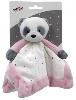 Іграшка-притулянка м'яка Tulilo Панда рожева