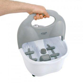 Ванночка массажная для ног с инфракрасным нагревом вибромассаж, пузырьковый и сухой массаж Adler AD 2167