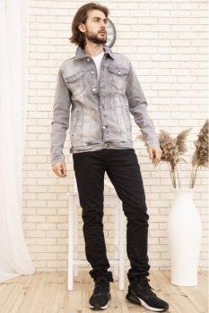 Джинсова куртка чоловіча колір Сірий FG_04475