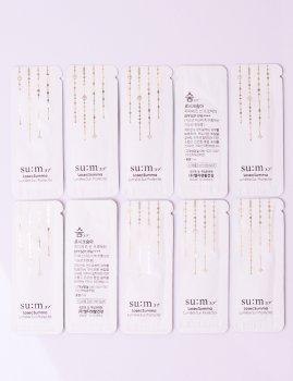 Пробники корейской косметики люкс солнцезащитный крем SU:M37 LosecSumma Elixir Sun Protector SPF50+ 10х1 мл