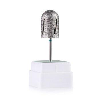 Фреза алмазна Nail Drill Twister - 488 016, для педикюру, діаметр 16 мм (зелена насічка)
