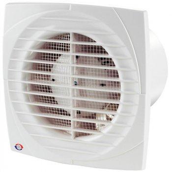 Бытовой вентилятор Вентс 100 Д К Л (клапан+подшипник) белый