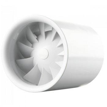 Канальный вентилятор Вентс 100 Квайтлайн Дуо белый