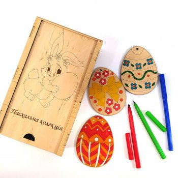Набор для детского творчества Пасхальная коллекция 13х22х5 см Мастерская мистера Томаса Фанера 4 мм