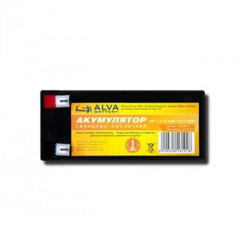 Аккумулятор свинцовый ALVA battery АВТ-7,5-12-AGM (12V7,5AH)