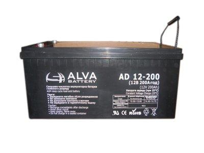 Аккумулятор ALVA battery AD12-200