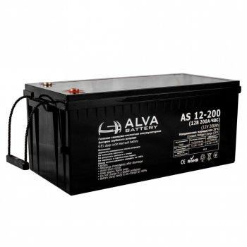 Аккумулятор ALVA battery AS12-200
