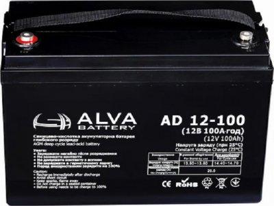 Аккумулятор ALVA battery AD12-100