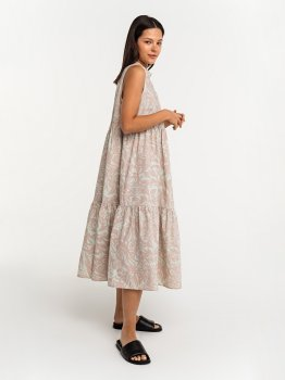 Платье Befree 2121356546-15 Зеленое