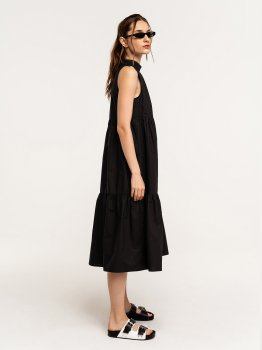 Платье Befree 2121356546-50 Черное