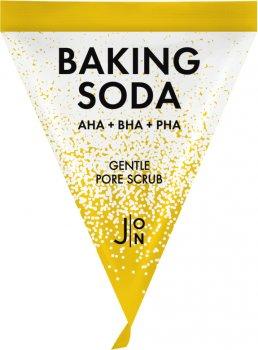 Скраб-пилинг для лица J:ON Содовый Baking Soda Gentle Pore Scrub 20 шт x 5 г (8802929005751)