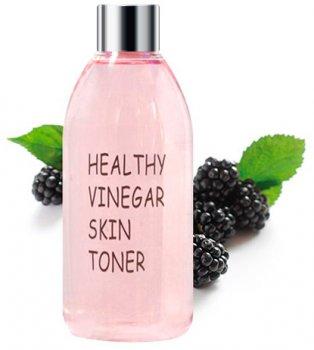 Тонер для лица Real Skin Шелковица Healthy vinegar skin toner Mulberry 300 мл (8809280351503)